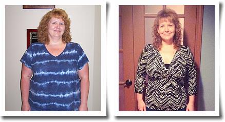 Deborah M Weight Loss Success
